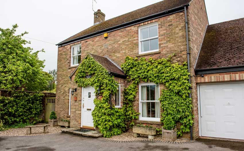 house with sash windows image
