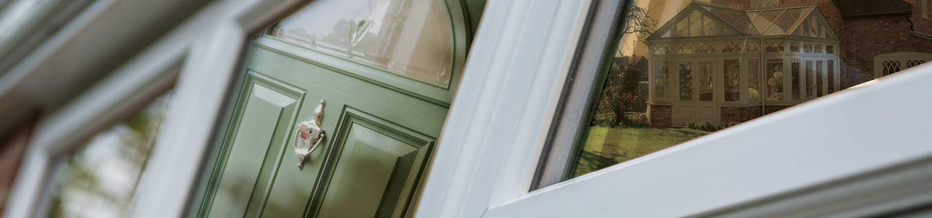arty window door conservatory image