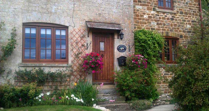 hardwood doors and window image