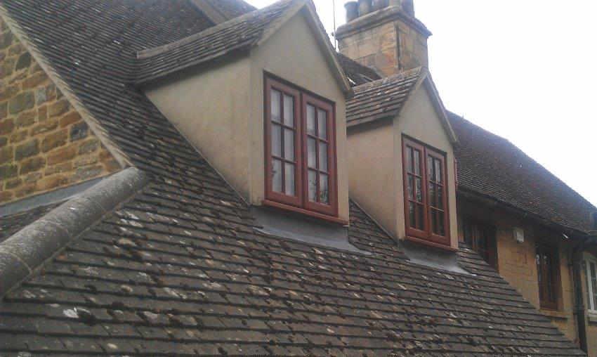 hardwood casement windows image