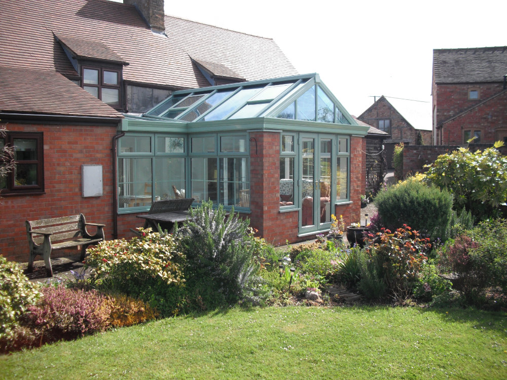 High-Tech Gable Conservatory – Chartwell Green, Gloucestershire