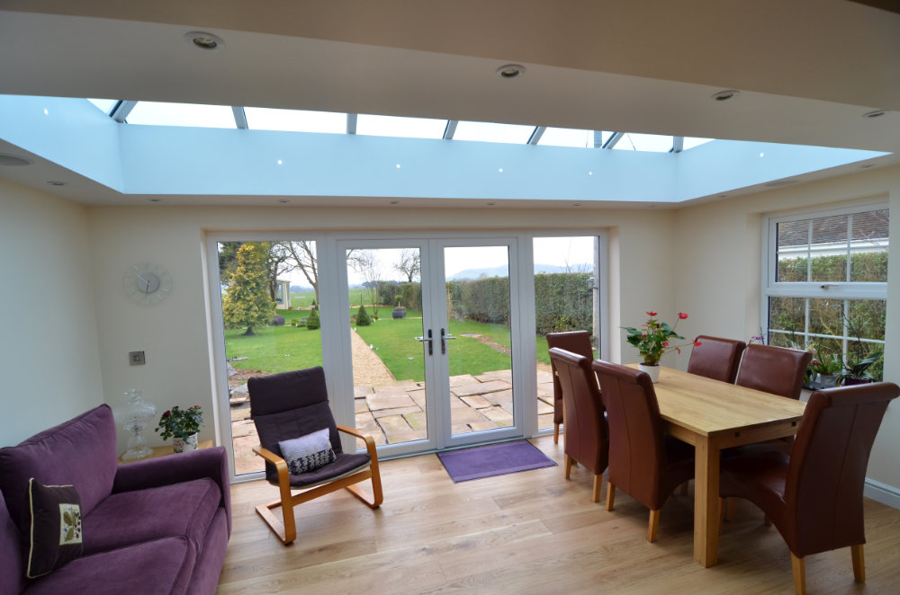 Living Room Conservatory by High-Tech Gloucestershire