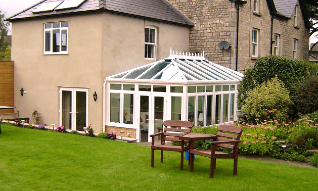 White uPVC Conservatory by High-Tech Gloucestershire