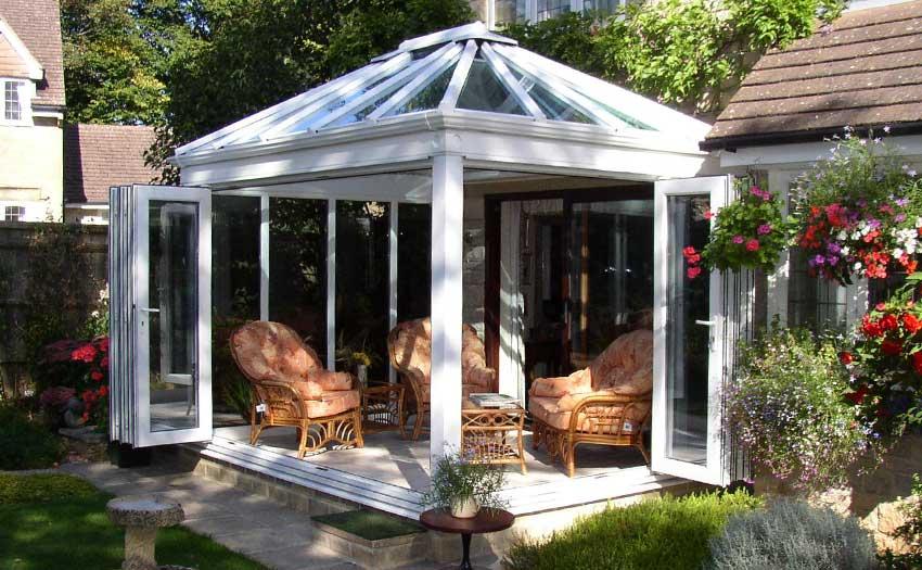 bifold conservatory door image
