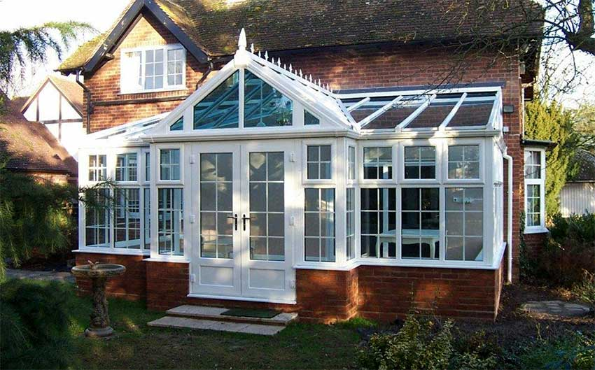 georgian style conservatory image