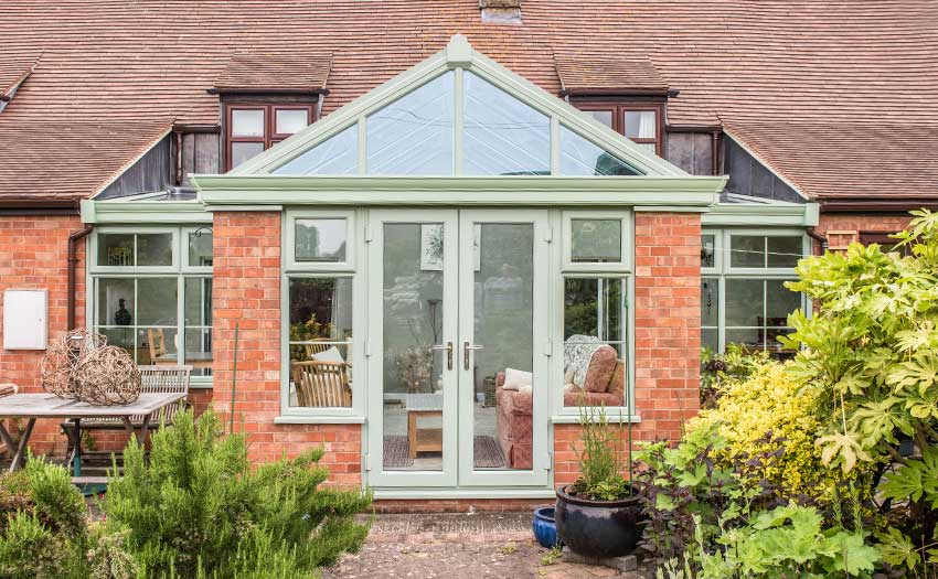picture of chart well green gable conservatory