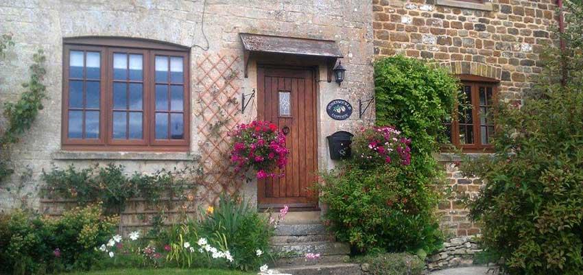 hardwood doors and windows image