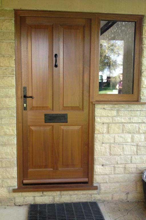 hardwood door image
