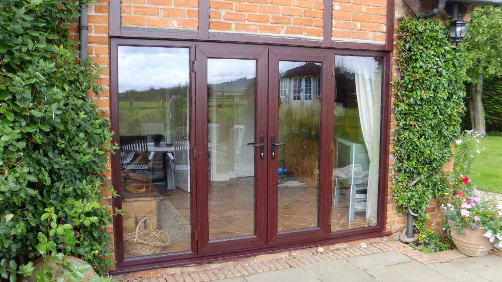 Rosewood French Doors by High-Tech Cheltenham