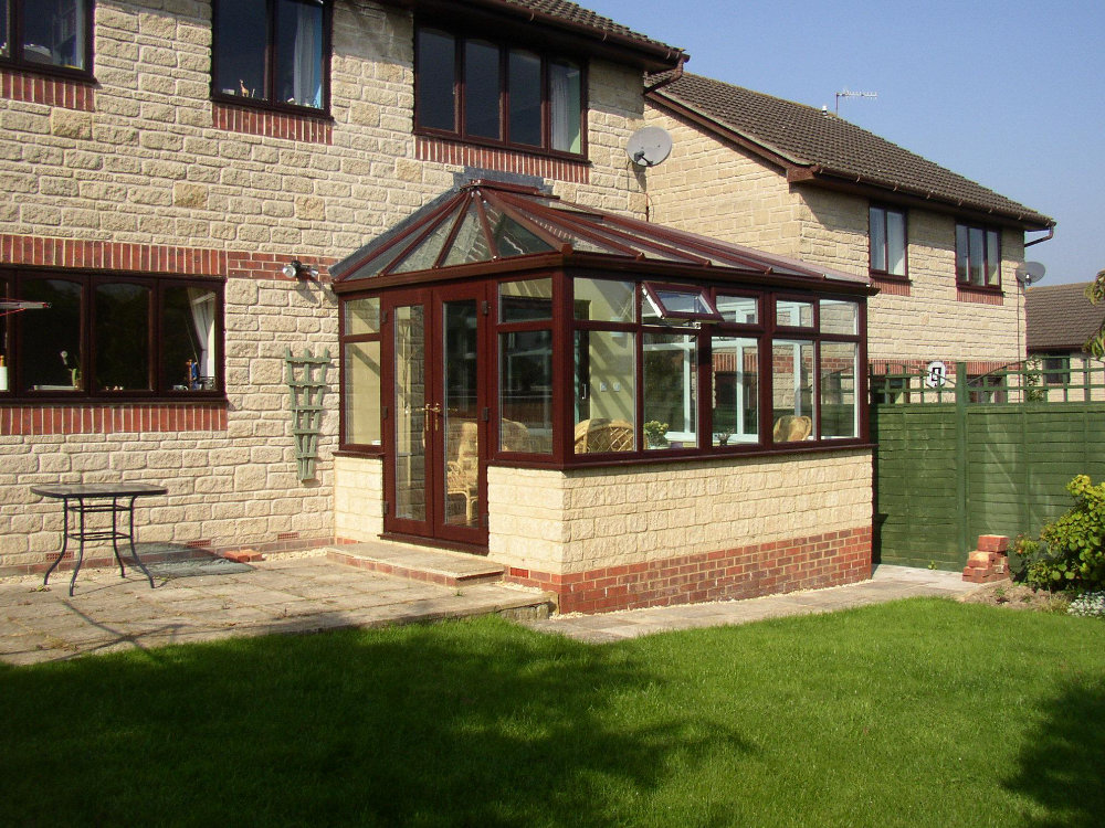 Edwardian Conservatory – Rosewood PVCu by High-Tech, Cheltenham