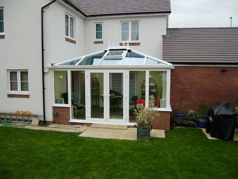 Edwardian Conservatory – White PVCu by High-Tech, Cheltenham