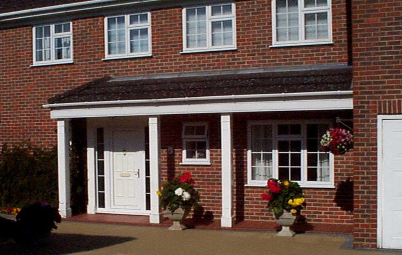uPVC Porch by High-Tech Gloucestershire