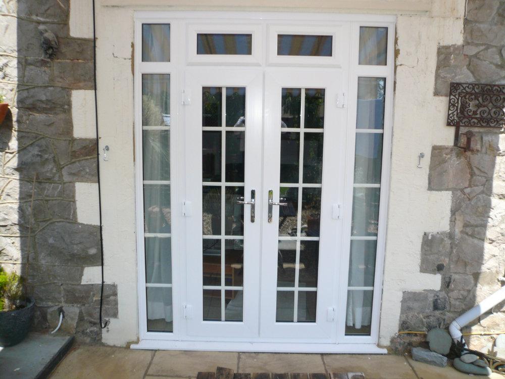 uPVC Georgian French Doors by High-Tech Gloucestershire