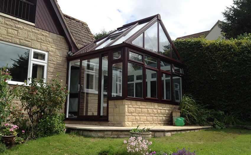 Gable conservatory