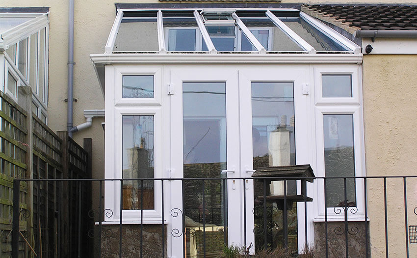 upvc lean to conservatory installation