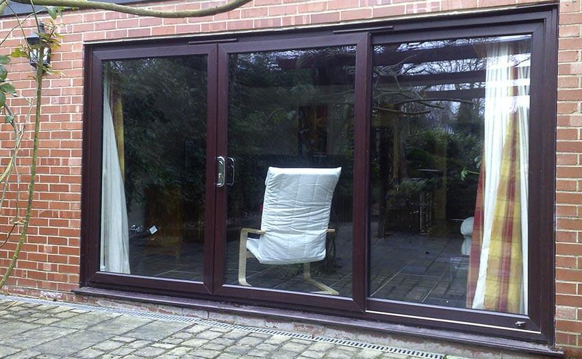 pvcu sliding patio door