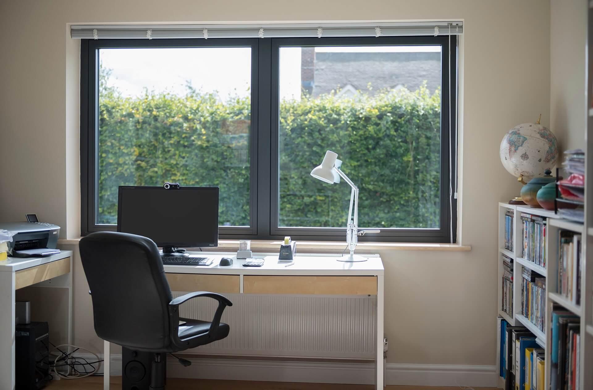 Grey uPVC windows Cotswolds