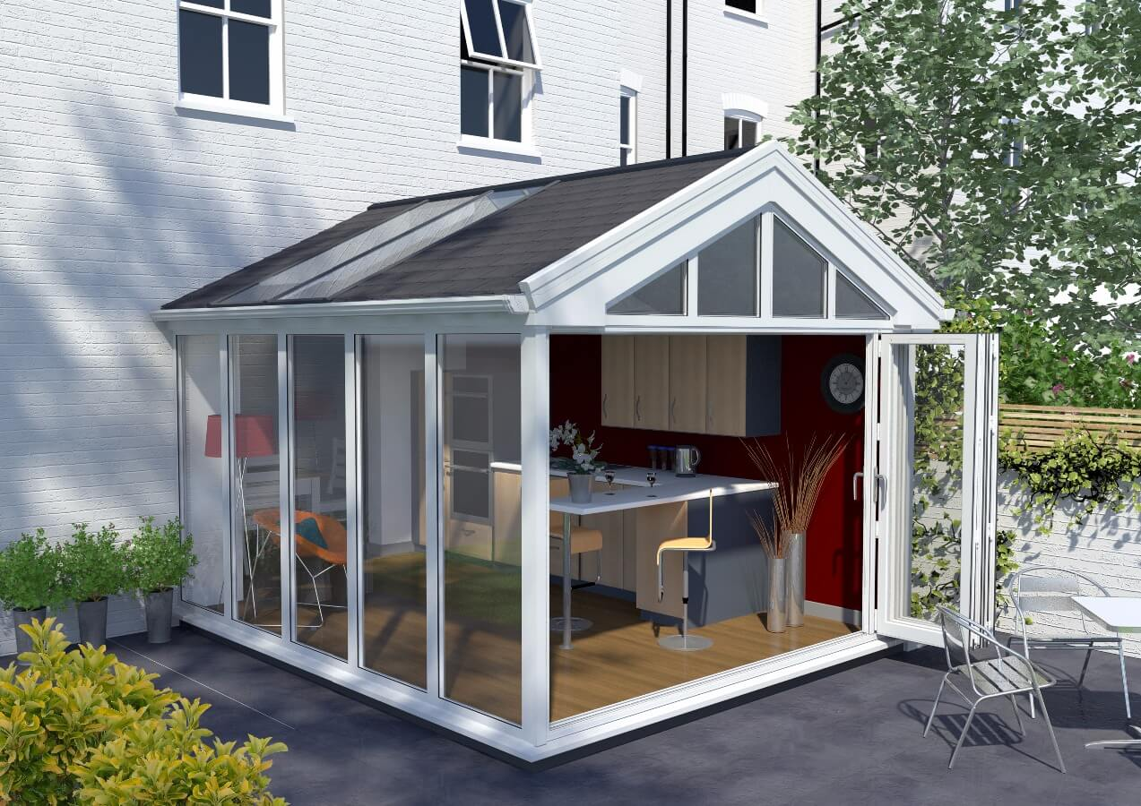tiled conservatory roof cheltenham