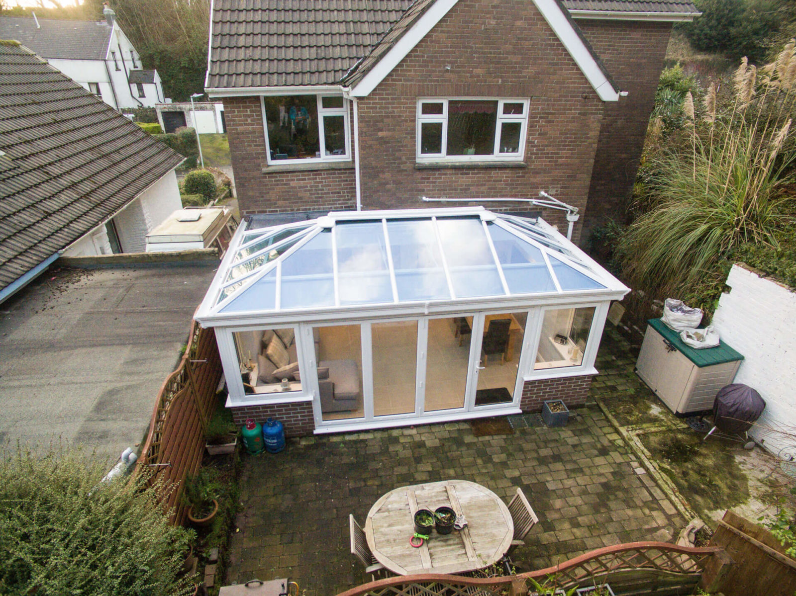 extensions with glass roofs cheltenham