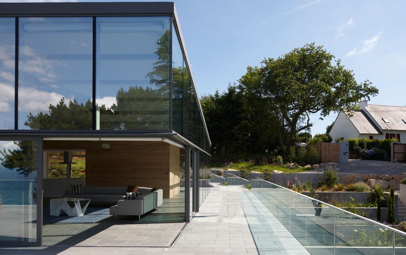 sliding aluminium doors gloucestershire
